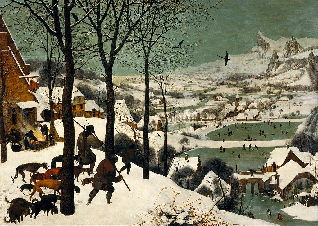 Hótól szikrázó tájak a festményeken: Monet, Bruegel és a többiek…