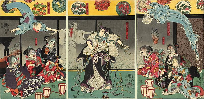 Szenvedélyt ígér, de halál a vége – Japán bosszúálló női szellemei