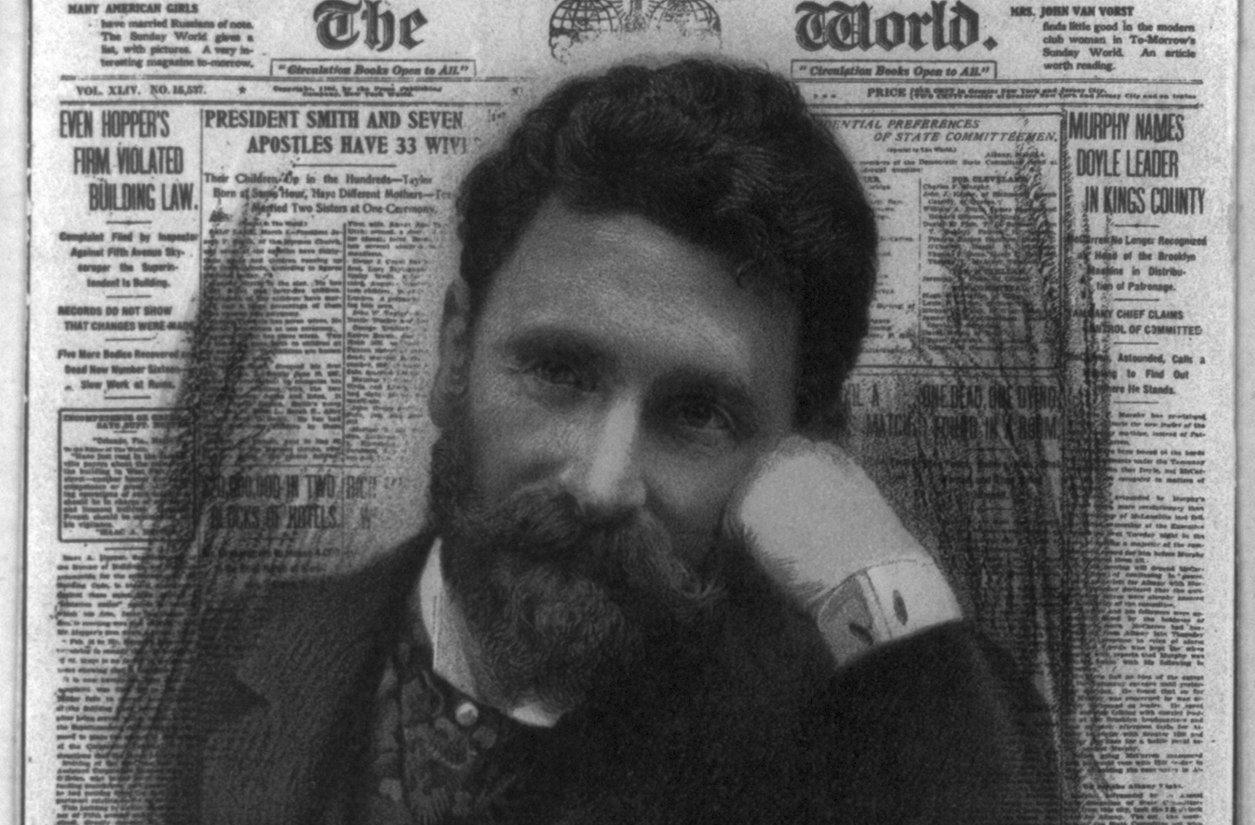 Pulitzer utolsó leheletéig harcolt a korrupció ellen