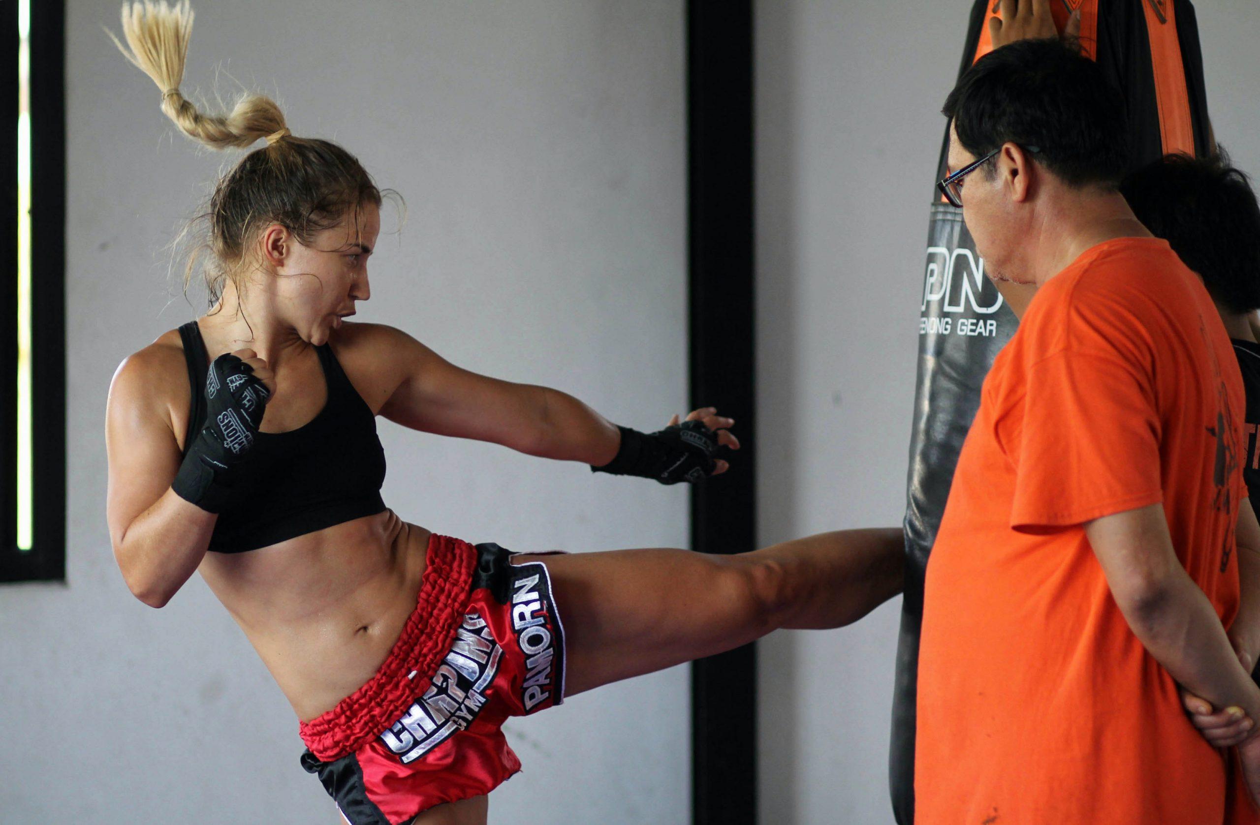 A nőiességem megélésében is segített a thai box!